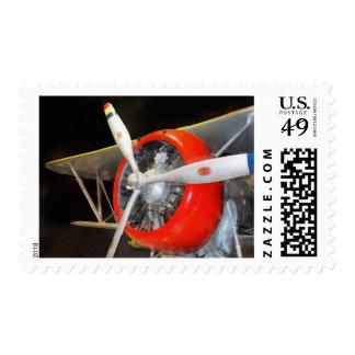 Grumman F3F-2 Biplane Postage