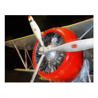 Grumman F3F-2 Biplane Postcard