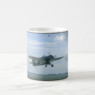 Grumman F4F Wildcat In Air_WWII Planes Coffee Mug