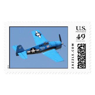 Grumman F6F Hellcat Postage