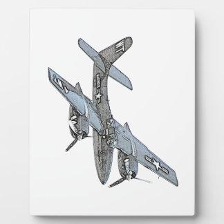 Grumman F7F Tigercat Airplane Plaques