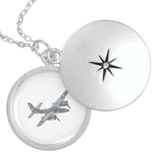 Grumman F7F Tigercat Sterling Silver Necklace