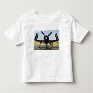 Grumman F8F Bearcat Navy Carrier Fighter on the Toddler T-shirt