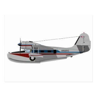 Grumman G-21 Goose 433433 Postcard