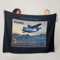 Grumman G-21 Goose Fleece Blanket