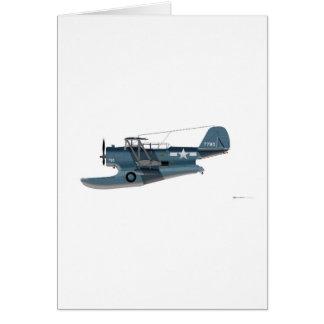 Grumman J2F-5 Duck Greeting Card