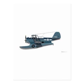 Grumman J2F-5 Duck Postcard