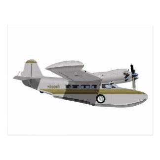 Grumman McKinnon G-21G Goose 436436 Postcard