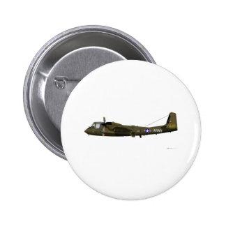 Grumman OV-1 Mohawk Pinback Button