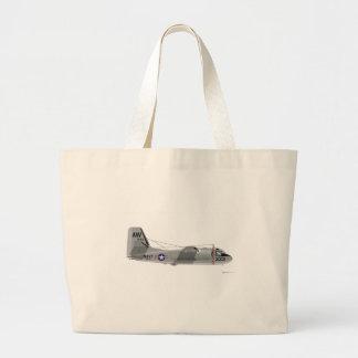 Grumman S-2E Tracker Tote Bags