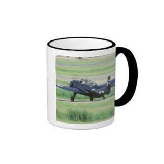 Grumman TBF/TBM Avenger Navy Carrier torpedo Ringer Coffee Mug