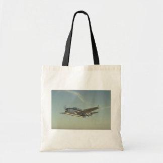 Grumman TBM Avenger Chino Air Museum Tote Bags