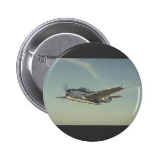 Grumman TBM Avenger Chino Air Museum Pinback Button