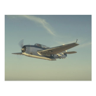 Grumman TBM Avenger Chino Air Museum Postcard