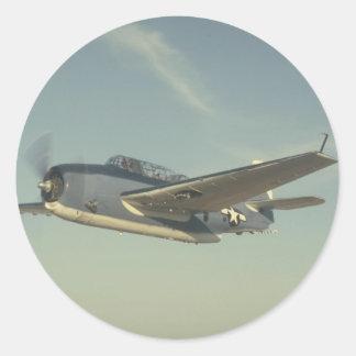 Grumman TBM Avenger Chino Air Museum Sticker