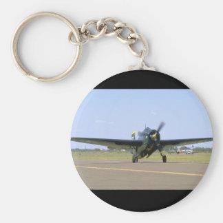 Grumman TBM Avenger, Frontal View_WWII Planes Keychain