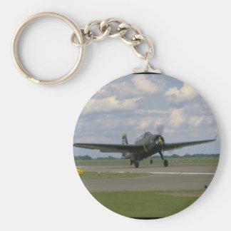 Grumman TBM Avenger, Landing_WWII Planes Keychain