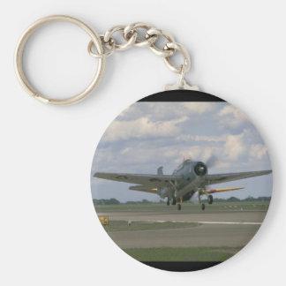 Grumman TBM Avenger, Taking Off_WWII Planes Keychain