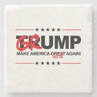 GRUMP 2016 - Make America Hate Again Stone Coaster