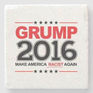 GRUMP 2016 - Make America Racist Again Stone Coaster