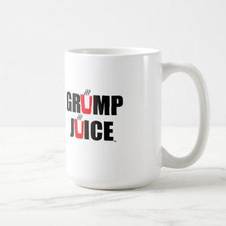 Grump Juice Classic White Coffee Mug