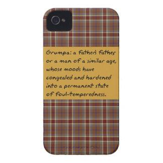 Grumpa Carcasa Para iPhone 4 De Case-Mate