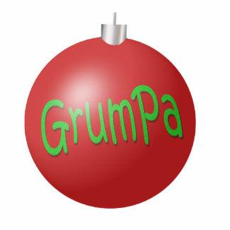 Grumpa Christmas Ornament