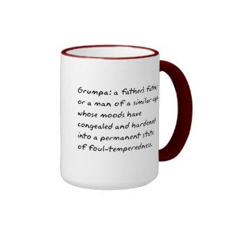 Grumpa Ringer Coffee Mug