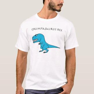 Grumpasaurus Rex Light Blue Textured T-Shirt