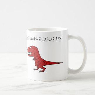 Grumpasaurus Rex Red Textured Mug