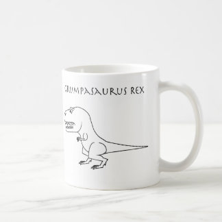 Grumpasaurus Rex Sketch Mug