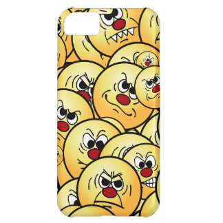 Grumpeys Angry Smiley Faces Set iPhone 5C Covers