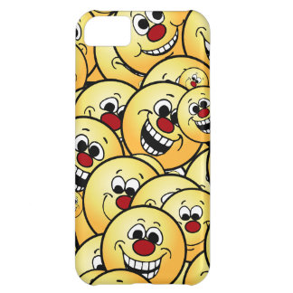 Grumpeys Happy Smiley Faces Set Case For iPhone 5C