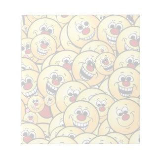 Grumpeys Happy Smiley Faces Set Notepad