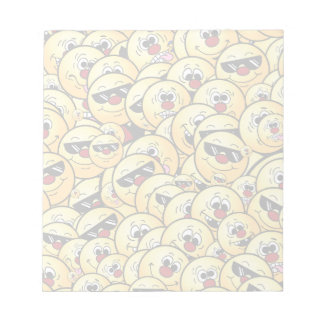 Grumpeys Silly Smiley Faces Set Notepads