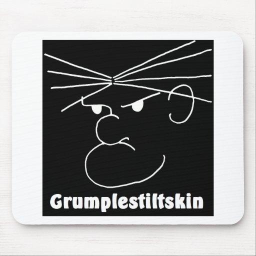 Grumplestiltskin (negro) tapete de raton