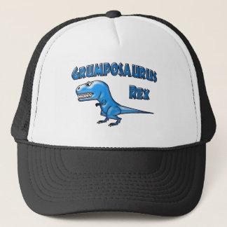Grumposaurus 2015 Blue Glass Trucker Hat