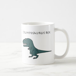 Grumposaurus Rex Dark Green Textured Mug