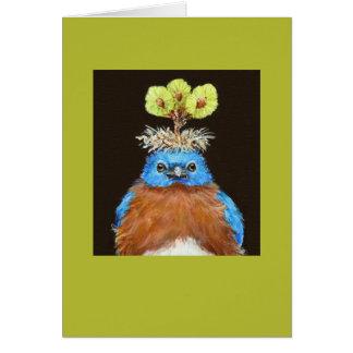 Grumpus la tarjeta del bluebird
