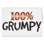 Grumpy 100 Percent Greeting Cards