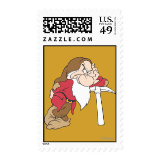 Grumpy 12 postage stamps