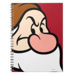 Grumpy 13 spiral note book