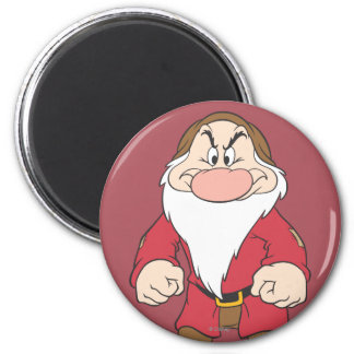 Grumpy 2 2 inch round magnet