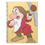 Grumpy 4 spiral notebook