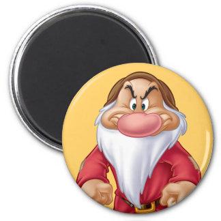 Grumpy 5 2 inch round magnet