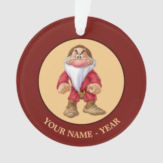 Grumpy 5 ornament