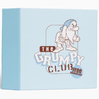 Grumpy 7 binder