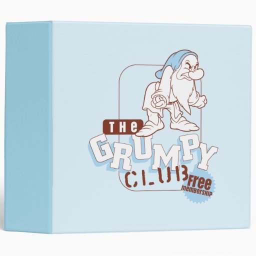 Grumpy 7 vinyl binder