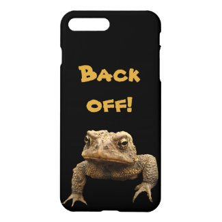 Grumpy American Toad Animal iPhone 7 Plus Case