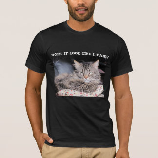 Grumpy Angel don't care T-Shirt